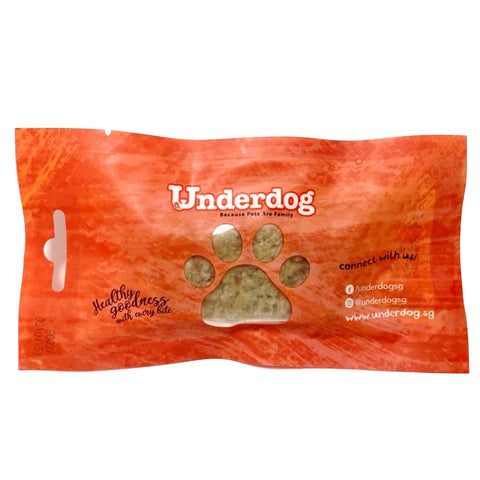 Free Sample - Underdog Cooked Beef Complete & Balanced Frozen Dog Food 30g - Kohepets