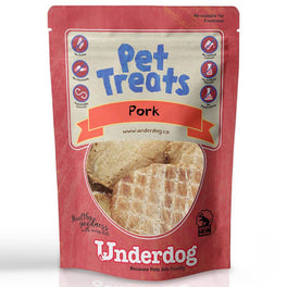 '$1 WITH MIN $80': Underdog Pork Air Dried Dog Treats 10g