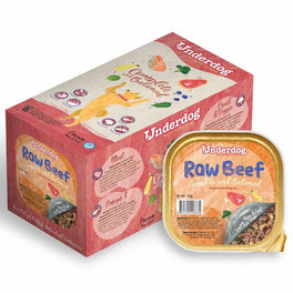 Underdog Raw Beef Complete & Balanced Frozen Dog Food 1.2kg