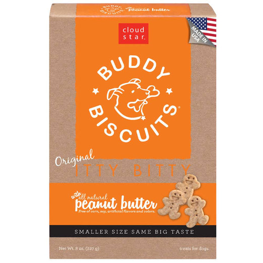 Cloud Star Itty Bitty Buddy Biscuits, Peanut Butter Dog Treats 227g