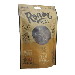 Roam Play 100% Veal Crunchies Air Dried Dog Treats 150g