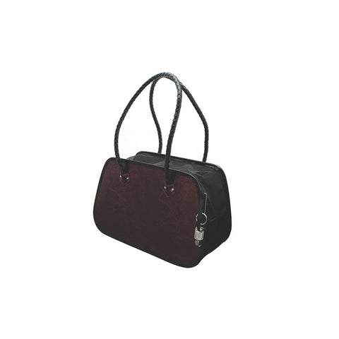 Dogit Style Faux Leather Rounded Venezia Red Tote Carry Bag - Kohepets