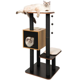 Vesper V-High Base In Black Cat Condo