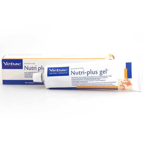 Virbac Nutri-Plus Gel Nutritional Supplement For Dogs & Cats 120g - Kohepets