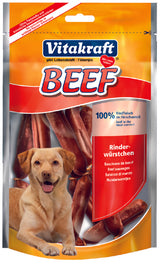 Vitakraft Beef Sausages Dog Treat 80g