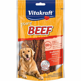 Vitakraft Beef Strips Dog Treat 80g