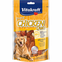 Vitakraft Chicken with Fish Duo Dog Treat 80g