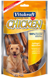 Vitakraft Chicken Sausages Dog Treat 80g