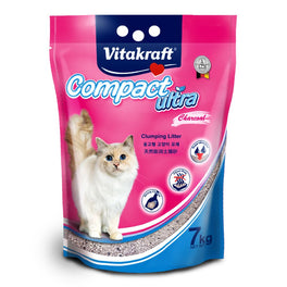 Vitakraft Compact Ultra Cat Litter Charcoal 7kg