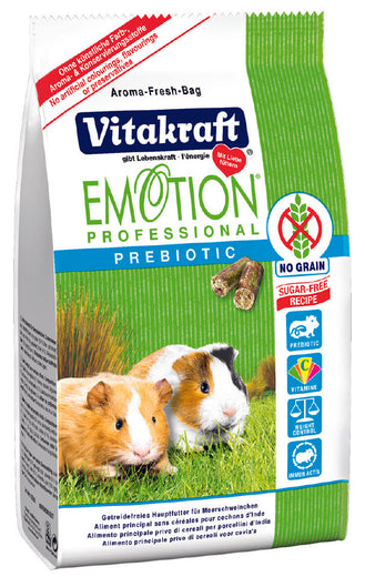 Vitakraft Emotion Professional Prebiotic Guinea Pig Food - Kohepets