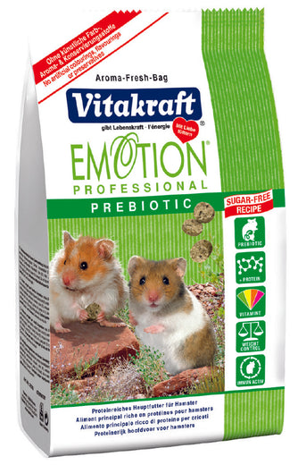 Vitakraft Emotion Professional Prebiotic Hamster Food - Kohepets