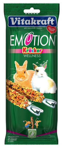 Vitakraft Emotion Wellness Kracker For Rabbits - Kohepets