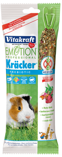Vitakraft Emotion Professional Prebiotic Kracker With Artichoke For Guinea Pigs