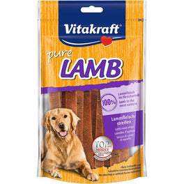 Vitakraft Lamb Strips Dog Treat 80g