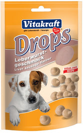 Vitakraft Liver Sausage Drops Dog Treat