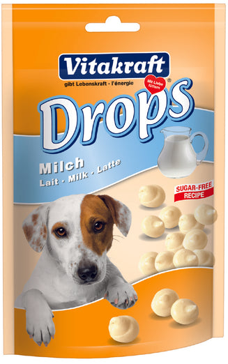 Vitakraft Milk Drops Dog Treat - Kohepets