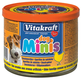 Vitakraft Mini Dog Sausages Dog Treat 120g