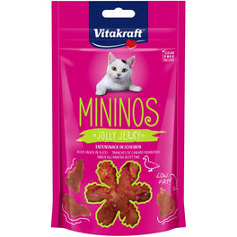 Vitakraft Mininos Jolly Jerky Cat Treats 40g
