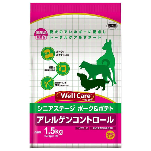 Well Care Pork With Potato Senior Dry Dog Food