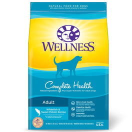 FREE Treats: Wellness Complete Health Whitefish & Sweet Potato Dry Dog Food