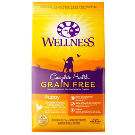 35% OFF 4lb (Exp 16 Dec 19): Wellness Complete Health Grain Free Puppy Dry Dog Food
