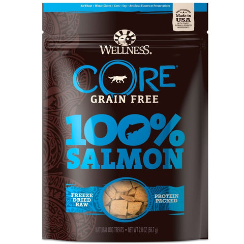15% OFF: Wellness CORE 100% Salmon Freeze Dried Dog Treats 2oz