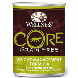Wellness CORE Grain-Free Weight Management Canned Dog Food 354g