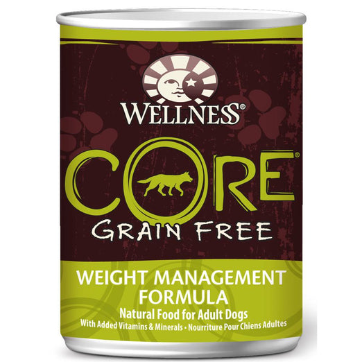 20% OFF: Wellness CORE Grain-Free Weight Management Canned Dog Food 354g - Kohepets