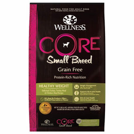 Wellness CORE Grain-Free Small Breed Healthy Weight Formula Dry Dog Food