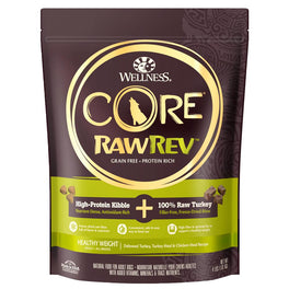 20% OFF: Wellness CORE RawRev Healthy Weight Grain-Free Dry Dog Food