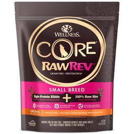 20% OFF: Wellness CORE RawRev Small Breed Adult Grain-Free Dry Dog Food