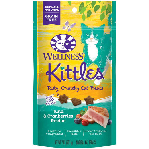 Wellness Kittles Tuna & Cranberries Cat Treats 57g