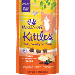Wellness Kittles Turkey & Cranberries Cat Treats 57g