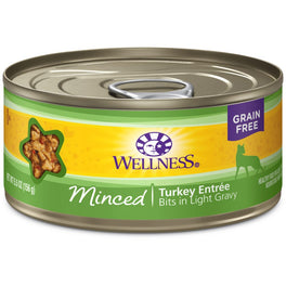 Wellness Complete Health Minced Turkey Entree Canned Cat Food 156g