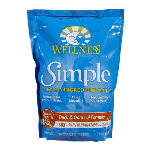 Wellness Simple Duck & Oatmeal Formula Dry Dog Food