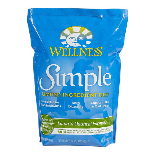 Wellness Simple Lamb & Oatmeal Formula Dry Dog Food