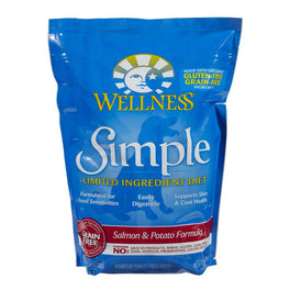 FREE Treats: Wellness Simple Grain-Free Salmon & Potato Formula Dry Dog Food