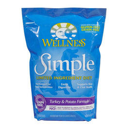 FREE Treats: Wellness Simple Grain-Free Turkey & Potato Formula Dry Dog Food