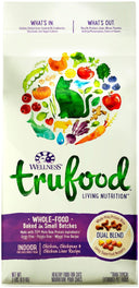 Wellness TruFood Baked Blends Grain-Free Chicken, Chickpeas & Chicken Liver Indoor Recipe Dry Cat Food 2lb