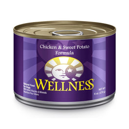 35% OFF: Wellness Complete Health Chicken & Sweet Potato Canned Dog Food 170g (Exp 28 Feb 19)