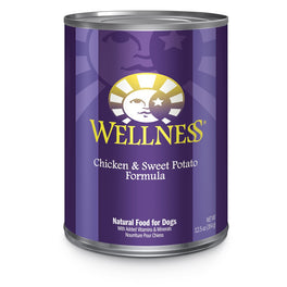 Wellness Complete Health Chicken & Sweet Potato Canned Dog Food 354g