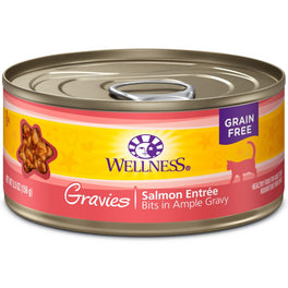 Wellness Complete Health Gravies Salmon Entree Canned Cat Food 85g