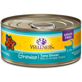 Wellness Complete Health Gravies Tuna Dinner Canned Cat Food 85g