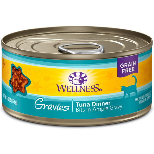 Wellness Complete Health Gravies Tuna Dinner Canned Cat Food 85g - Kohepets