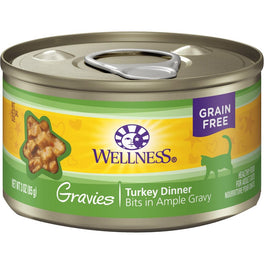 Wellness Complete Health Gravies Turkey Dinner Canned Cat Food 85g