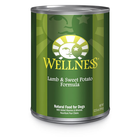 20% OFF: Wellness Complete Health Lamb & Sweet Potato Canned Dog Food 354g