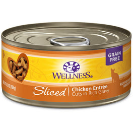 Wellness Complete Health Sliced Chicken Entree Canned Cat Food 156g
