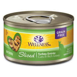 Wellness Complete Health Sliced Turkey Entree Canned Cat Food 156g