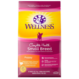 Wellness Complete Health Small Breed Puppy Dry Dog Food 4lb