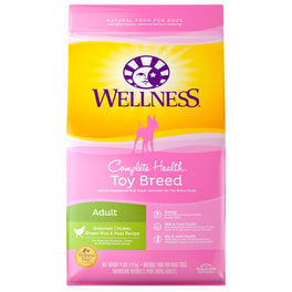 Wellness Complete Health Toy Breed Adult Dry Dog Food 4lb